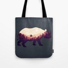 Rhinoscape Tote Bag
