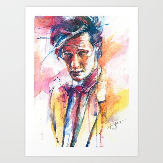 Eleven II Art Print