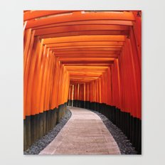 Thousand Torii Gates Canvas Print