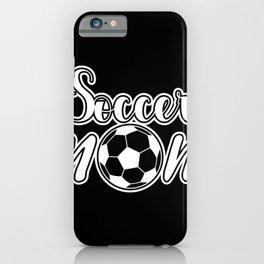 Mother's Football Mother's Day Birthday Gift iPhone Case