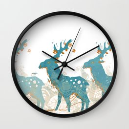 olen' Wall Clock