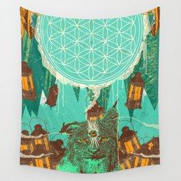 MYSTIC CAT Wall Tapestry