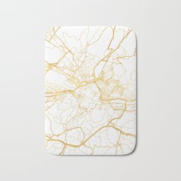 FLORENCE ITALY CITY STREET MAP ART Bath Mat