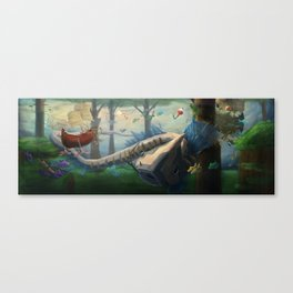 Big Catch Canvas Print