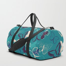 Butterfly pattern 008 Duffle Bag