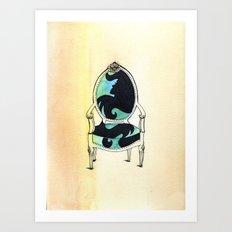 Curieux Art Print
