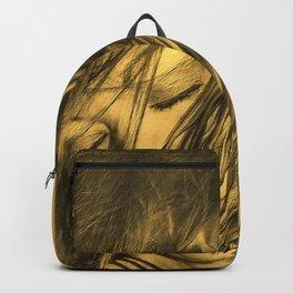 Biker Gold Backpack