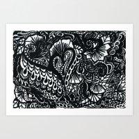 Heartstrings Art Print