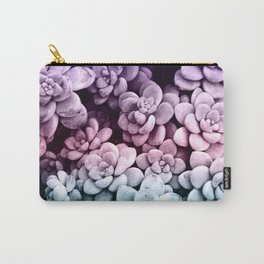 Dreamy Succulents #1 #pastel #decor #art #society6 Carry-All Pouch
