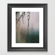 string of pearls Framed Art Print