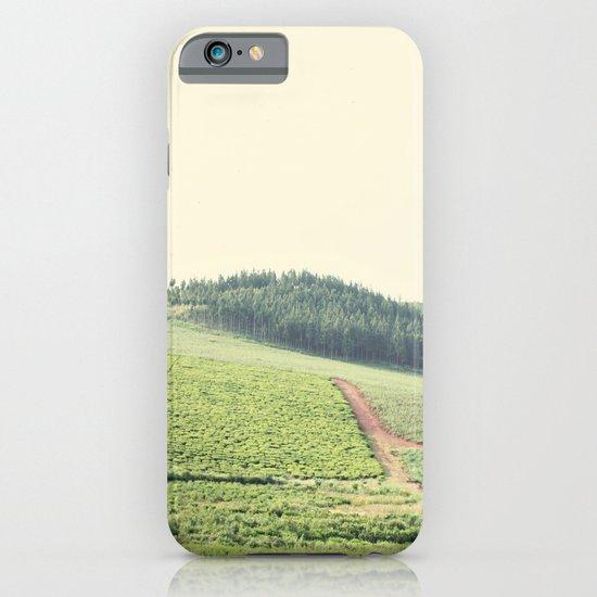 on the hill::uganda iPhone & iPod Case