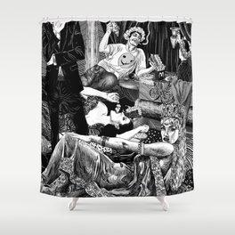 Opulence & Decadence Shower Curtain