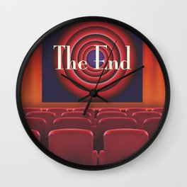 At the movies Wall Clock