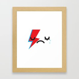 See you later Starman.  Framed Art Print