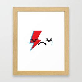 See you later Starman.  Framed Art Print