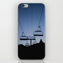 Mammoth Mountain Silhouette iPhone Skin