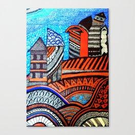 A City View Canvas Print