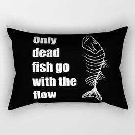 Dead fish Rectangular Pillow