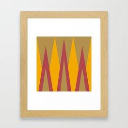 Sunshine Mountains Framed Art Print