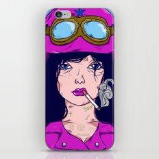 Dangerous Girls - Biker iPhone & iPod Skin