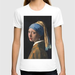 """Johannes Vermeer, """" The girl with a pearl earring """" T-shirt"""