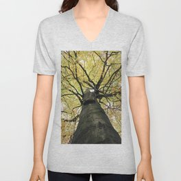 Treetop from Below Unisex V-Neck