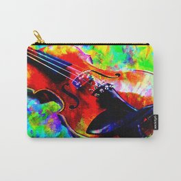 Violin Abstract Carry-All Pouch