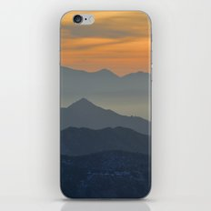 Sunset at the mountains iPhone & iPod Skin