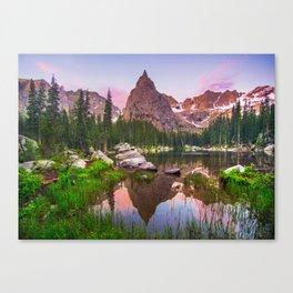 Lone Eagle Peak Canvas Print