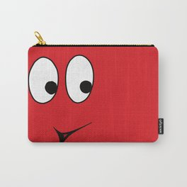 White-tailed Spherical Red Blop Carry-All Pouch