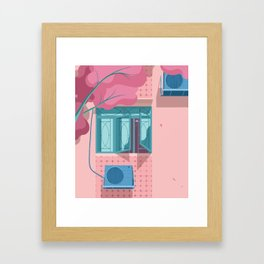 Windows in the Old Neighbourhood Framed Art Print