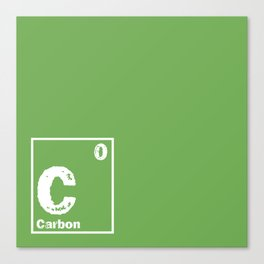 Carbon neutral Canvas Print
