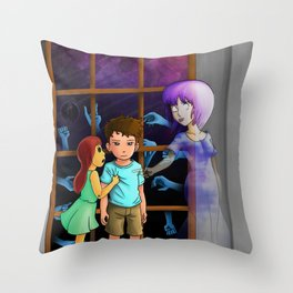 The Hands Can't Resist Him Throw Pillow