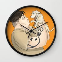 oitnb Wall Clocks featuring OITNB Big Boo by StephDere