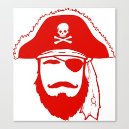Who wants to be a Pirate?!? Canvas Print