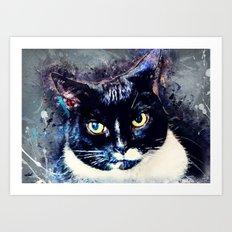 Cat Jagoda art Art Print