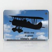 airplane iPad Cases featuring airplane by Karl-Heinz Lüpke