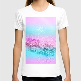 Unicorn Girls Glitter #16 #shiny #decor #art #society6 T-shirt