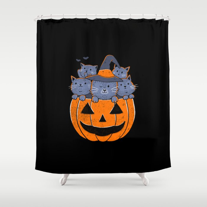 Cat's Tricks Shower Curtain