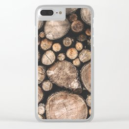The Spirit of the Trees Clear iPhone Case