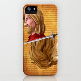 Godric Gryffindor iPhone Case