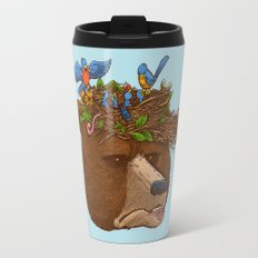 Mr Bear's Nature Hat 2017 Travel Mug