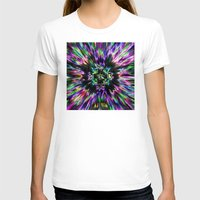 tie dye T-shirts featuring Colorful Tie Dye Abstract by Phil Perkins