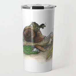 Little Worlds: Snail and Cricket Travel Mug