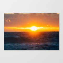Sunrise of the East Canvas Print