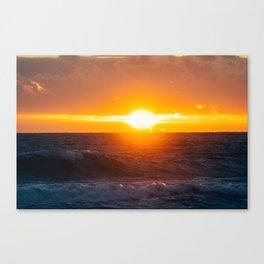 Sunrise of the East Canvas Print