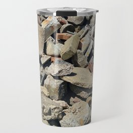 Concrete Bricks Travel Mug