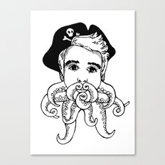 Octobeard Canvas Print
