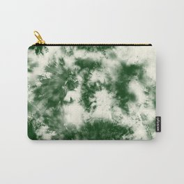 Green Tie Dye & Batik Carry-All Pouch