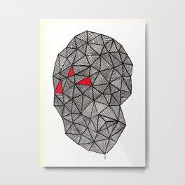 - superhero - Metal Print